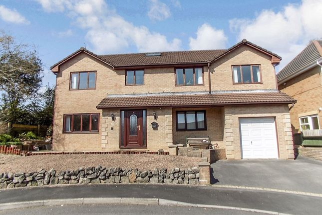 Thumbnail Detached house for sale in Beechwood Grove, Pencoed, Bridgend .