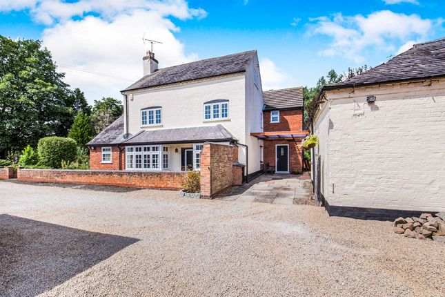 Thumbnail Detached house for sale in Station Road, Countesthorpe, Leicester