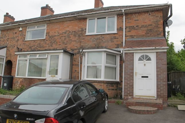 Thumbnail End terrace house for sale in Richmond Road, Stechford, Birmingham
