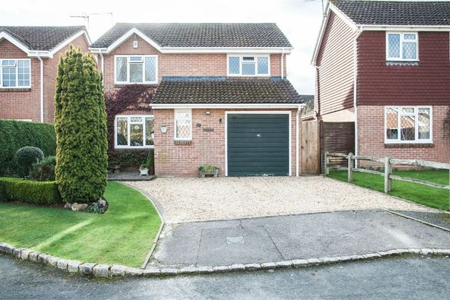 Thumbnail Detached house for sale in Mallow Close, Lindford, Hampshire