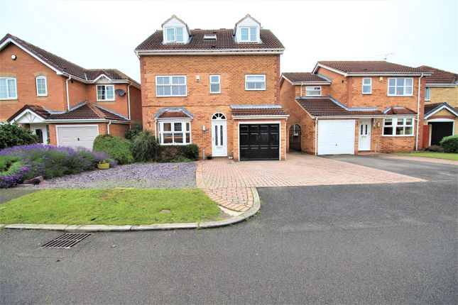 Thumbnail Detached house for sale in Long Field Drive, Edenthorpe, Doncaster, South Yorkshire