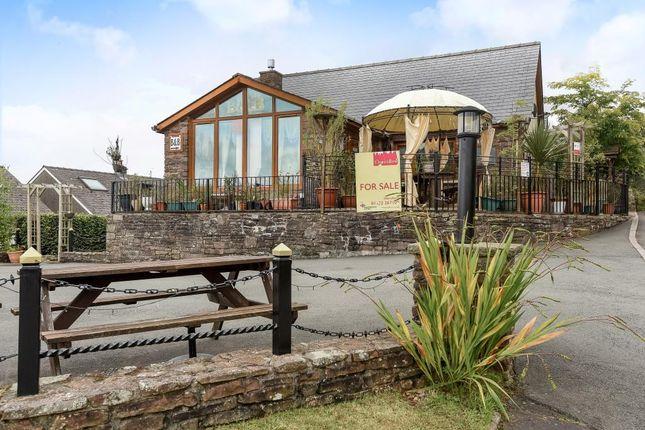 Thumbnail Detached bungalow for sale in Castle Lodge, Sennybridge