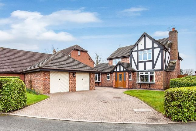 Thumbnail Detached house for sale in Paddocks Green, Mossley, Congleton