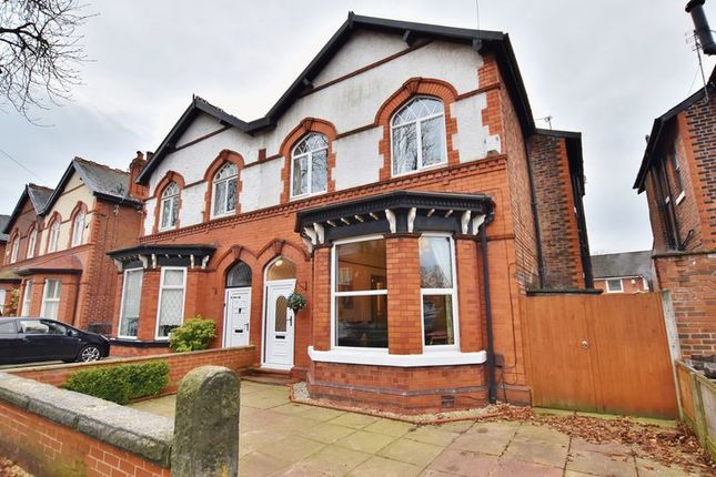Thumbnail Semi-detached house for sale in Hawthorn Avenue, Eccles, Manchester