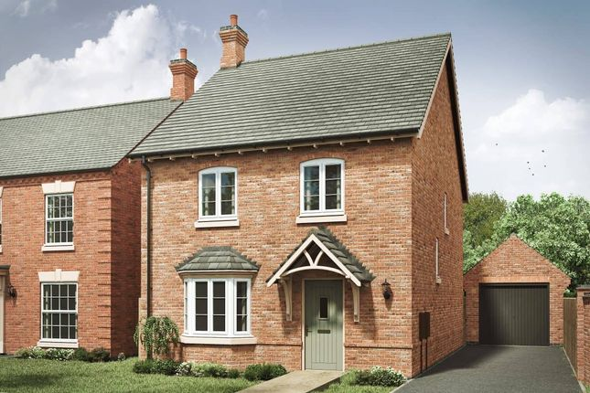 """4 bed detached house for sale in """"The Lincoln 4th Edition"""" at Spring Avenue, Ashby-De-La-Zouch LE65"""