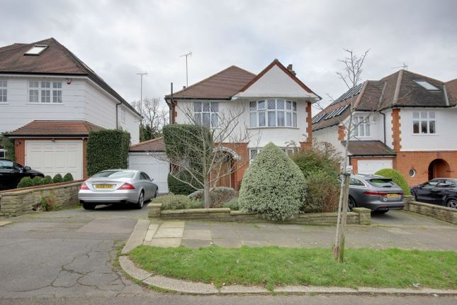 Thumbnail Detached house to rent in Branscombe Gardens, Winchmore Hill