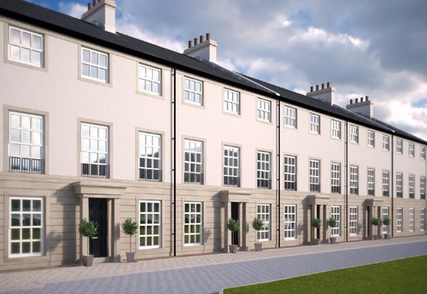 "Thumbnail Town house for sale in ""Orchard Row Townhouse A"" at Abbey Walk, St. Andrews"