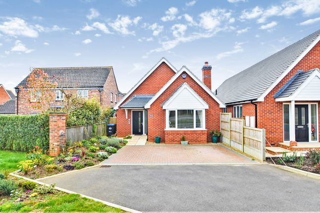 Thumbnail Detached bungalow for sale in Crick Road, Hillmorton, Rugby