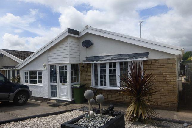 Thumbnail Detached bungalow for sale in Trenos Gardens, Bryncae, Pontyclun
