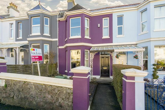Thumbnail Terraced house for sale in Hermitage Road, Mutley, Plymouth