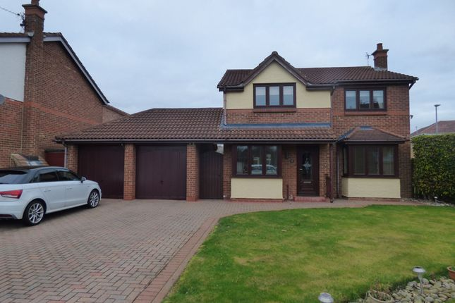 Thumbnail Detached house for sale in Orpine Court, Ashington