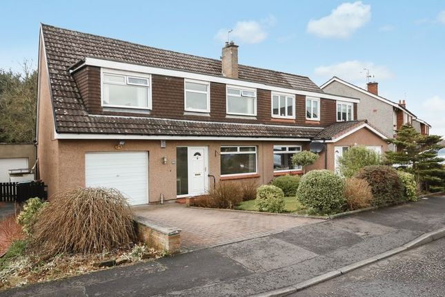 Thumbnail Semi-detached house for sale in Woodlands Drive, Bo'ness
