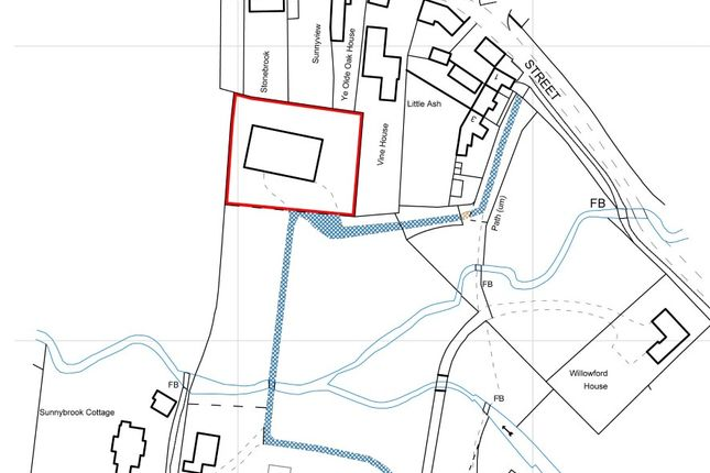Thumbnail Land for sale in Watts Barn, Back Street, Thornborough, Buckingham, Buckinghamshire