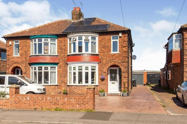 Thumbnail Semi-detached house for sale in Buttermere Avenue, Acklam, Middlesbrough