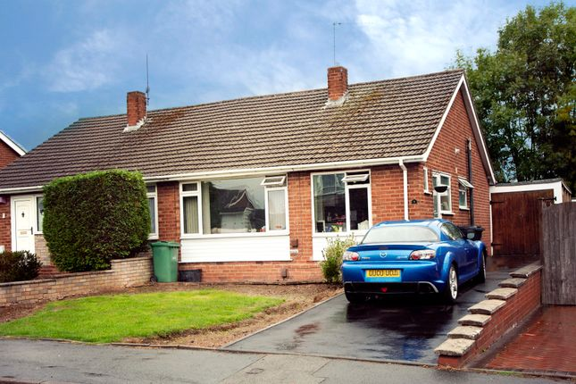 Thumbnail Semi-detached bungalow for sale in Belvedere Close, Kingswinford