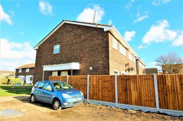 Thumbnail Flat for sale in Castle Walk, Canvey Island, Essex