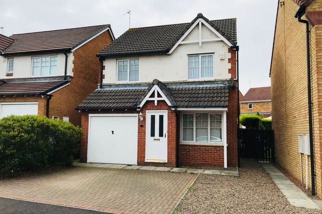 Thumbnail Detached house for sale in Glazebury Way, Northburn, Cramlington