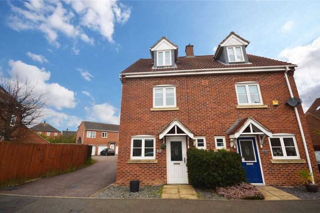 3 bed semi-detached house for sale in Elder Close, Witham St. Hughs, Lincoln LN6