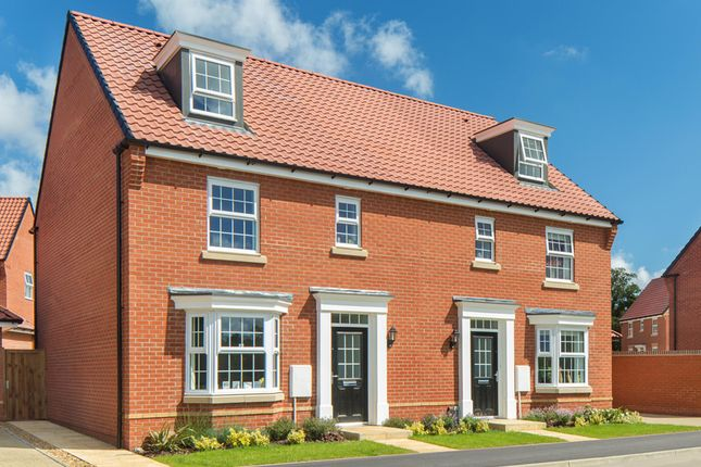 "Thumbnail Link-detached house for sale in ""Bayswater"" at Sir Williams Lane, Aylsham, Norwich"