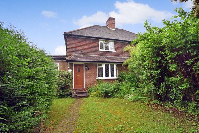 3 bed semi-detached house for sale in Tilford Road, Churt, Farnham GU10