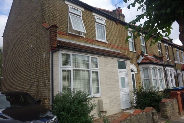 Thumbnail End terrace house for sale in Northfield Road, Enfield, Greater London