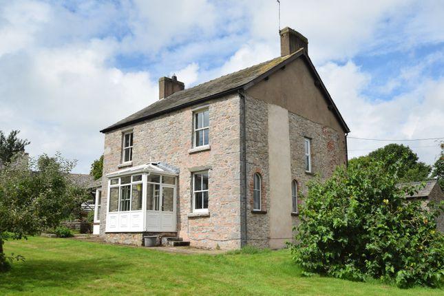 Thumbnail Farmhouse for sale in Broughton Road, Dalton-In-Furness, Cumbria