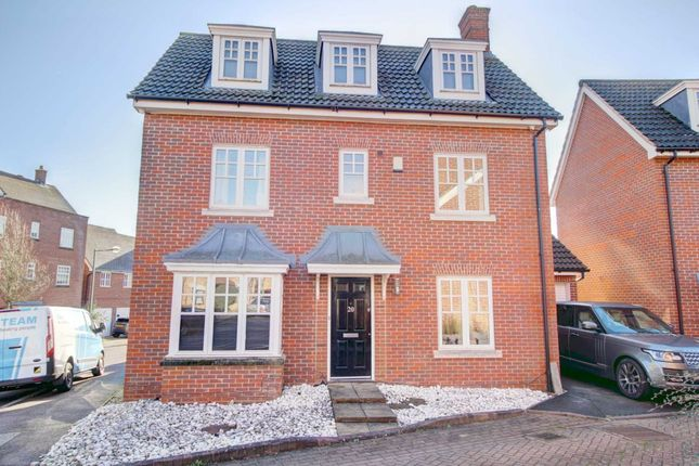Thumbnail Detached house for sale in Exbury Lane, Westcroft, Milton Keynes
