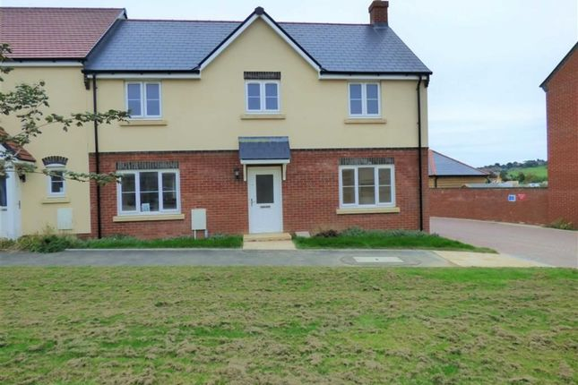 Thumbnail End terrace house for sale in Curtis Way, Weymouth