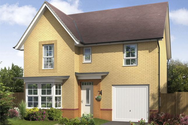 "Thumbnail Detached house for sale in ""Somerton"" at Monkton Lane, Hebburn"