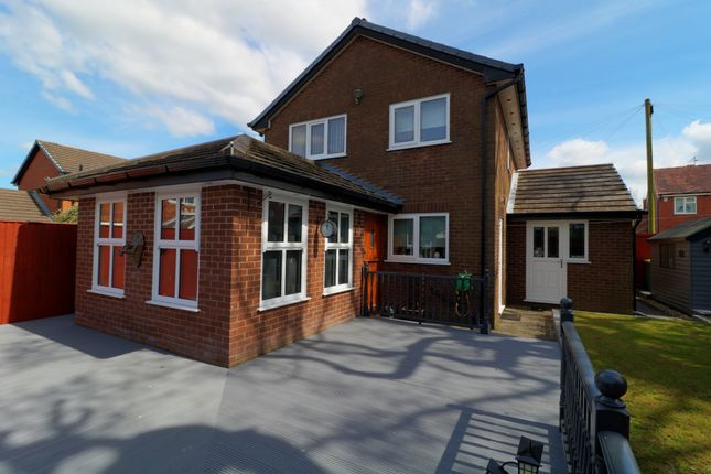 Thumbnail Detached house for sale in Nelson Crescent, Lea, Preston