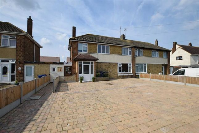 Thumbnail Semi-detached house for sale in Princess Margaret Road, East Tilbury, Essex