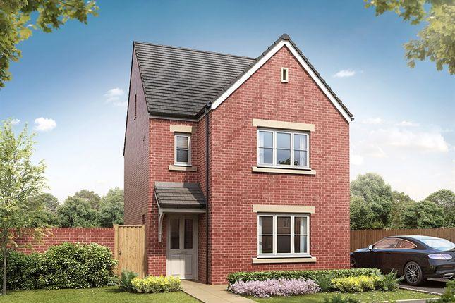"Thumbnail Detached house for sale in ""The Lumley"" at Bawtry Road, Bessacarr, Doncaster"