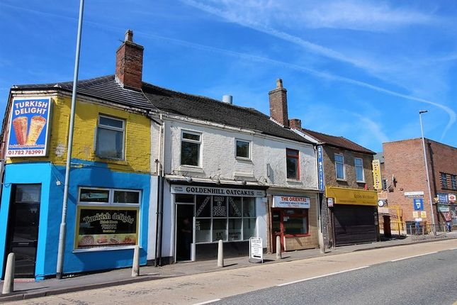 Thumbnail Flat to rent in High Street, Goldenhill, Stoke-On-Trent