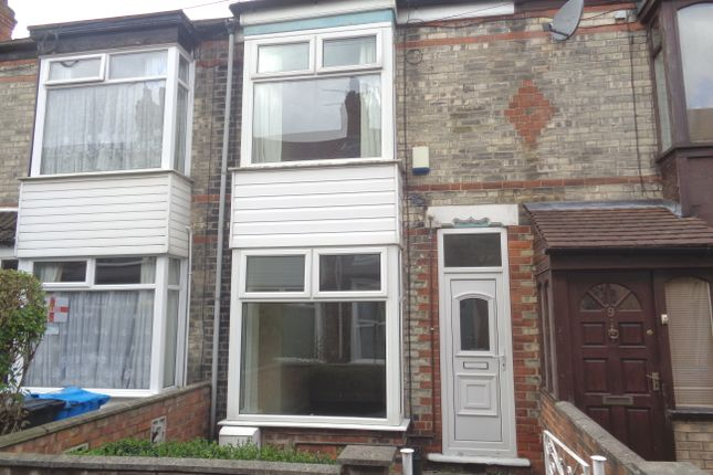 Thumbnail Terraced house to rent in Carrington Avenue, Newland Avenue, Hull