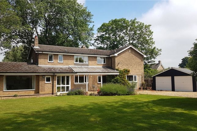 Thumbnail Country house for sale in Welmore Road, Glinton, Peterborough