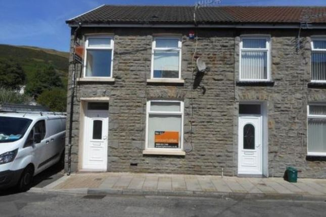Thumbnail End terrace house to rent in Ynysgau Street, Ystrad