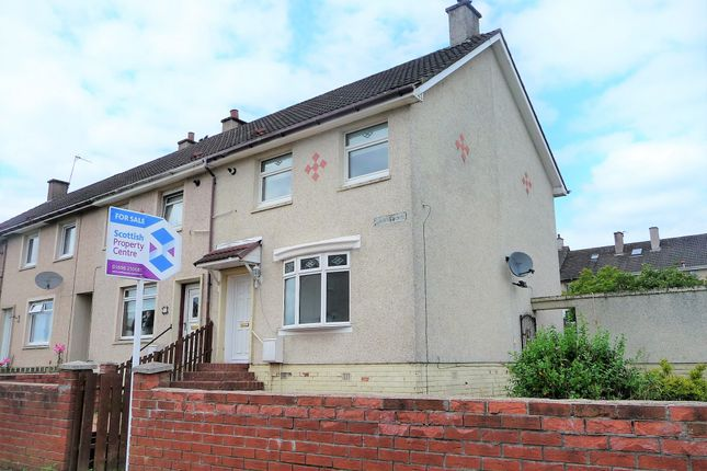 Thumbnail End terrace house for sale in Stanefield Drive, Motherwell, Lanarkshire