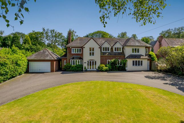 Thumbnail Detached house for sale in Keepers Road, Little Aston, Sutton Coldfield