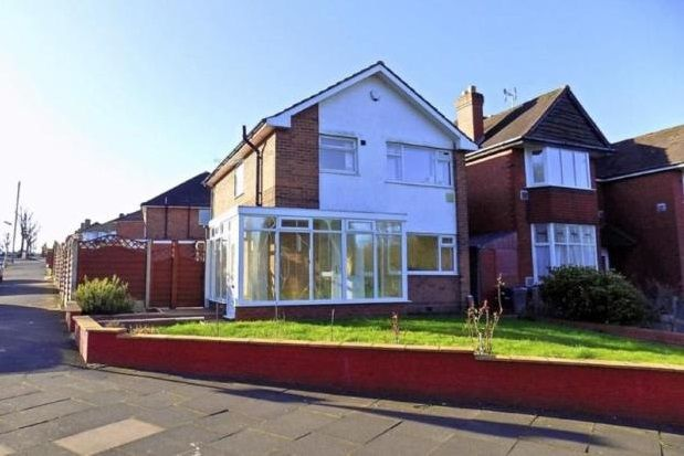 Thumbnail Detached house to rent in Glencroft Road, Solihull