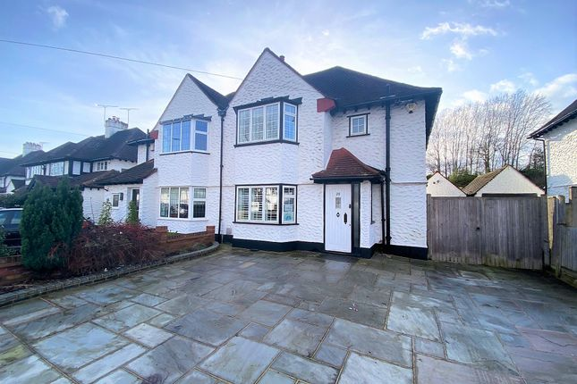 Thumbnail Semi-detached house for sale in Fairway, Petts Wood, Orpington
