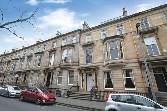 Thumbnail Flat to rent in Clairmont Gardens, Park, Glasgow