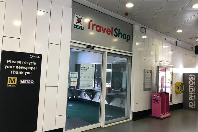 Thumbnail Retail premises to let in Nexus Travel Shop, The Hub, Haymarket Metro Station, Newcastle Upon Tyne