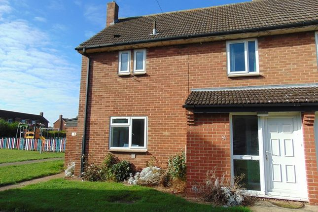 Thumbnail Semi-detached house to rent in Lime Close, Cranwell, Sleaford