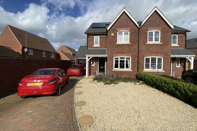 Thumbnail Semi-detached house for sale in Red Kite Rise, Hardwicke, Gloucester