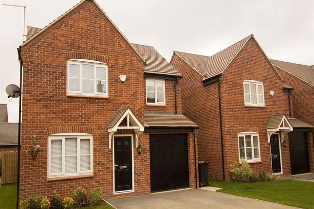 "Thumbnail Detached house for sale in ""The Warwick"" at Riber Drive, Chellaston, Derby"