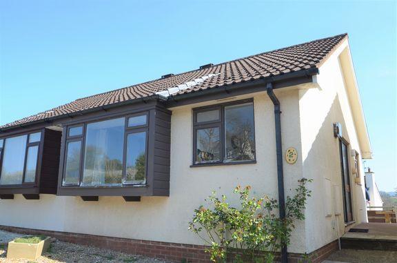 Thumbnail Semi-detached bungalow for sale in Ashley Road, Uffculme, Cullompton