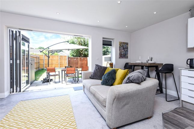 Thumbnail Maisonette for sale in Warwick Place, 70A Wheatash Road, Addlestone, Surrey