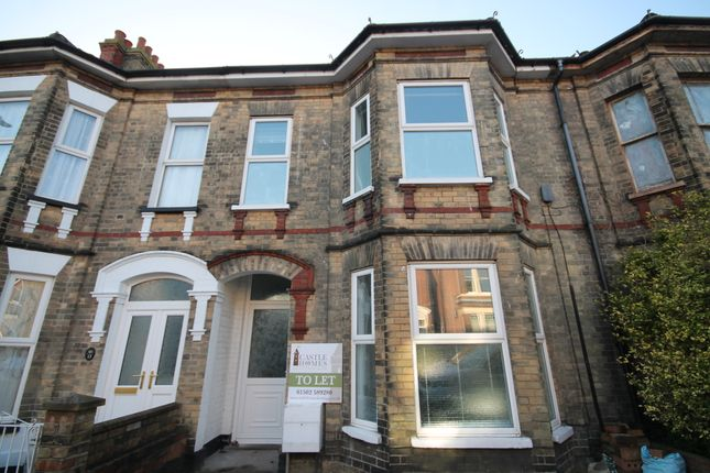 Thumbnail Town house to rent in Regent Road, Lowestoft, Suffolk
