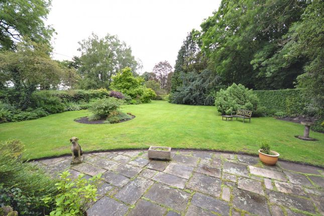Garden of Whisterfield Lane, Lower Withington, Macclesfield SK11