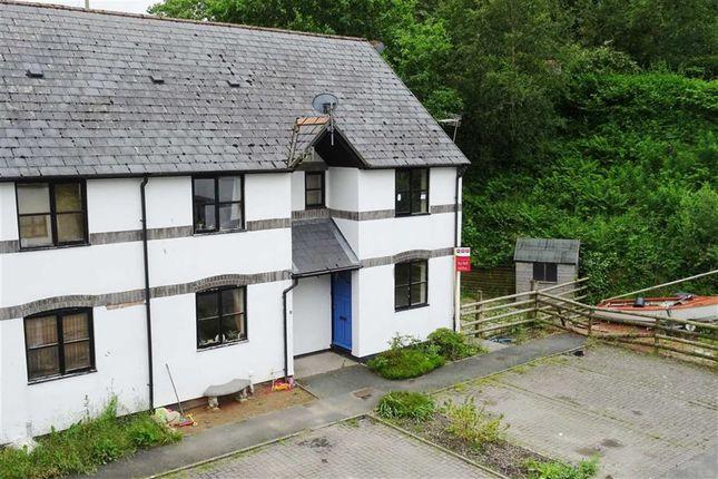 Thumbnail End terrace house to rent in 6, Maes Yr Efail, Llanbrynmair, Powys